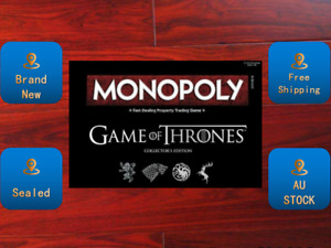 Monopoly Game of Thrones Board Game Brand NEW SEALED AU STOCK