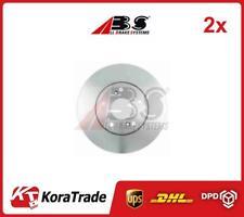 2x 17468 ABS OE QUALITY BRAKE DISC SET