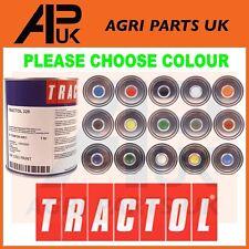 More details for choose 1 litre 1l tin tractol paint tractor mini digger excavator telehandler ..