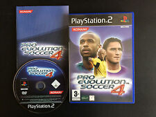 jeux SONY PLAYSTATION 2  PS2 pro evolution soccer 4 BE