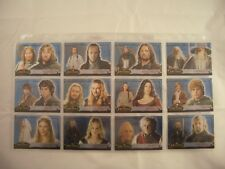 Lord of the Rings Evolution B 1B-12B Trading Cards Set