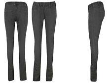 BNWT GOLDDIGGA Ladies Black Ruched Jeggings 8-12 Skinny Jeans/Leggings STRETCH