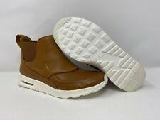 Para mujer Nike Air Max Thea Mid Bota Talla 6-10 Brown Ale 859550-200 Nuevo
