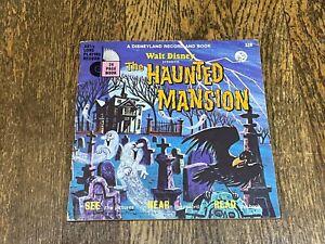 The Haunted Mansion - Walt Disney Record & Book 1970