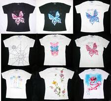 T-shirt pour fille de 2 à 16 ans en 100% coton 7 - 8 ans