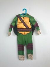Rubie's Teenage Mutant Ninja Turtles Boy Bodysuit Puffer Costume Multicolor Sz S
