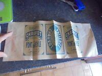 Etiquette d'Ancienne Boite de la Fabrique de Biscuits Chauvot de Pont de Veyle