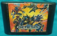 X-Men Sega Genesis Game Working Tested Rare Authentic Original Marvel