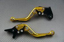 CNC Leve corte Freno Frizione ORO Gold SUZUKI GSR600 GSR 6002006-2011