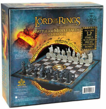 Lord Of The Ring Chess Set Battle for Middle-Earth New Noble Collection Set LOTR