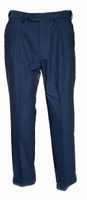 "MEN'S NEW M&S FORMAL SUIT TROUSERS SIZE 30-32-34-36-38-40-42"" WOOL BLEND BLUE"