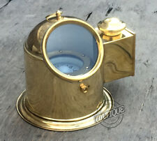 Vintage Vintage Binnacle Compass Boat/ship Binnacle Gimballed with Oil Lamp