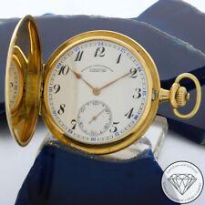 Glashütte Lange 585 / 14 Karat Gelb Gold 3 DeckelTaschenuhr Handaufzug xxyy