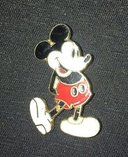 Mickey Mouse pin on gold toned backing, Walt disney Productions