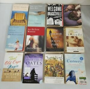Lot of 12 Fiction National Bestseller Books. As Displayed. PB