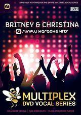 BRITNEY AND CHRISTINA - SUNFLY MULTIPLEX KARAOKE DVD - 12 HIT SONGS