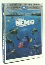 Finding Nemo 3D (Blu-ray 3D+Blu-ray+DVD+Digital Copy, 2012) NEW w/ Slipcover
