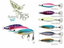 Shimano Butterfly Flat  Fall Jigs - 80 g 80 ml - Chartreuse White Pack of 2 Jigs