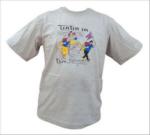Tin Tin In Trek-Cotton T-shirt