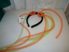 Celebrate Pumpkin Costume Headband with Googily Hair   New