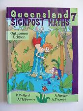Queensland Signpost Maths:Bk 7 Outcomes Edition  Alan McSeveny (Paperback 2004)