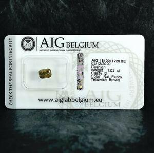 Diamant 1.02 ct Zertifikat Very Good/Good Schätzung 1.000 € - 1.100 € versiegelt