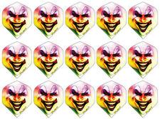 5 New Sets Ruthless iFlights Standard Dart Flights -Ships w/Tracking- Evil Clown