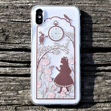 MADE IN JAPAN Hard Shell Clear Case Alice in Wonderland for iPhone X