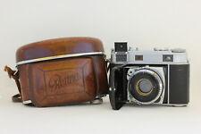 Kodak Retina IIIc 3c Kamera • 021 • Synchro-Compur • Leather Case • Rodenstock
