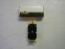 LEVITON 5362-E Black 20A 125V Duplex Receptacle