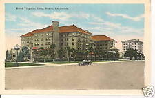 "Long Beach CA  ""The Hotel Virginia"" Old Postcard California *FREE U.S. Shipping*"