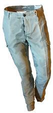 Pantalone Cargo Tasconi Camouflage Mimetico Verde Militare Uomo TWISTED Tag 46