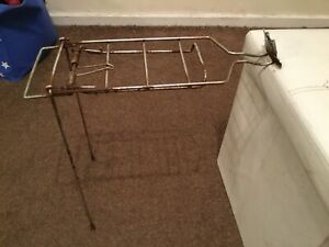 1950s ? BIKE CYCLE REAR RACK OF HUMBER MAY FIT OTHERS .ROADSTER USE/RESTORE IT
