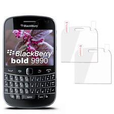2x Display Schutz für BlackBerry Bold 9900 Schutzfolie Clear Klar Display Folie