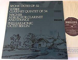 Spohr• Weber •Wagner• Philharmonic Octet Berlin Philips Stereo