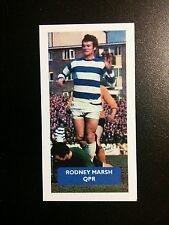 ENGLAND - QPR - RODNEY MARSH - Score UK football trade card