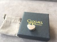 NEW Clogau Silver & Rose Gold Enamel Bead Charm SAVE OVER 50% OFF RRP £69