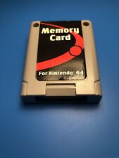 Nintendo 64 MEMORY CARD by Performance P-302 N64 - Tested & Working!