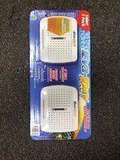 Child Pet Safe Eva-Dry E-333 Renewable Rechargable Mini Dehumidifier 2-Pack-New