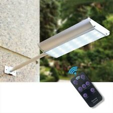 Impermeable 70 LED Luz Solar Sensor De Movimiento Lámpara de Pared al Aire Libre Jardín Sendero Street