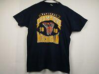Vintage Mens M University Of Michigan Wolverines 1989 Championship T-Shirt