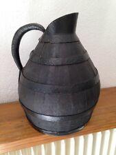 ancien Broc de chai pichet de vigneron plagnard œnologie cave vin art populaire