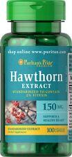 Hawthorn Standardized Extract 150 mg  x 100 Capsules  ** AMAZING PRICE **