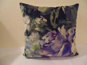 Designers Guild Velvet  Fabric Bloomsbury Rose Indigo Cushion Covers  D3