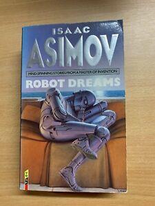 "1994 ISAAC ASIMOV ""ROBOT DREAMS"" SCIENCE FICTION PAPERBACK BOOK (P3)"
