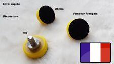 """Support pour disque à poncer diamètre 25mm (1"""") Auto agrippant. Neuf"""