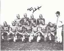 """Don Schaefer Autographed Notre Dame 8"""" x 10"""" Photo w/COA Certification."""