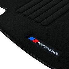 4 TAPIS SOL BMW SERIE 3 F30 F31 2012-UP MOQUETTE LOGO PERFORMANCE M SPECIFIQUE