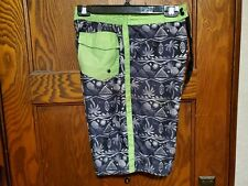 Joe Boxer Boys Large Swim Trunks Board Shorts Tropical Print