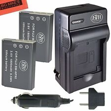 BM NP-95 2X Batteries & Charger for Fujifilm FinePix X30 X100 X100S X100T X-S1
